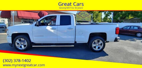 2018 Chevrolet Silverado 1500 for sale at Great Cars in Middletown DE