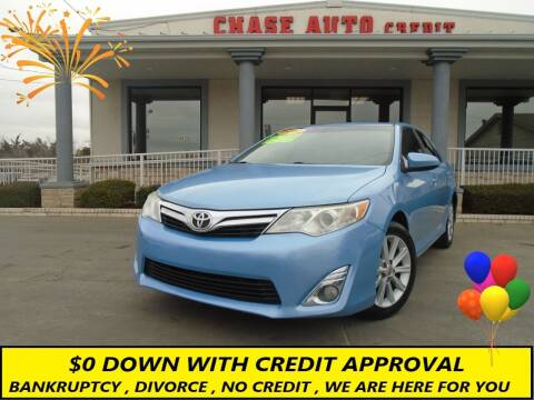 2012 Toyota Camry for sale at Chase Auto Credit in Oklahoma City OK