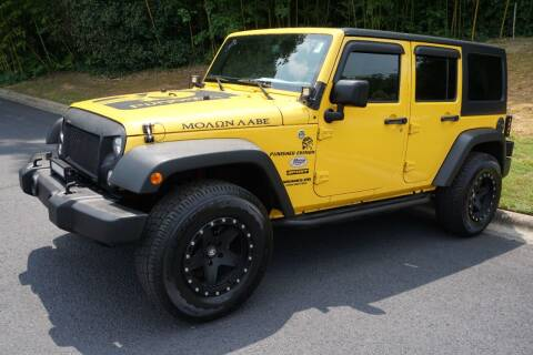 2015 Jeep Wrangler Unlimited for sale at Modern Motors - Thomasville INC in Thomasville NC