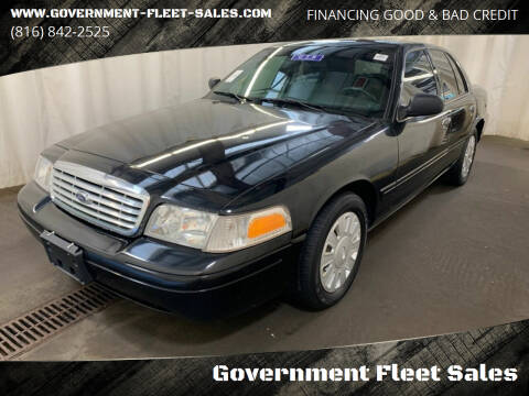 2008 Ford Crown Victoria for sale at Government Fleet Sales in Kansas City MO