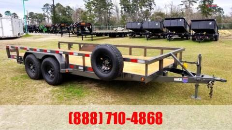 "2021 C-5 83"" X 18' Lowboy for sale at Montgomery Trailer Sales in Conroe TX"