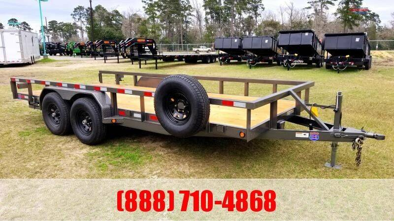 """2021 C-5 83"""" X 18' Lowboy for sale at Montgomery Trailer Sales in Conroe TX"""