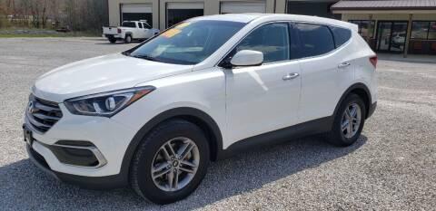 2017 Hyundai Santa Fe Sport for sale at COOPER AUTO SALES in Oneida TN