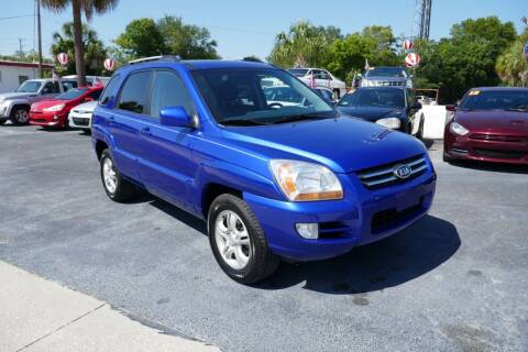 2006 Kia Sportage for sale at J Linn Motors in Clearwater FL