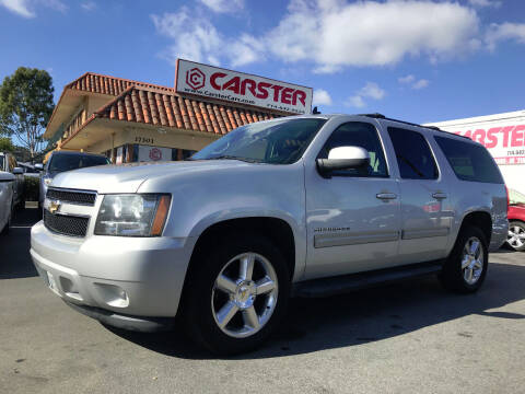 2011 Chevrolet Suburban for sale at CARSTER in Huntington Beach CA