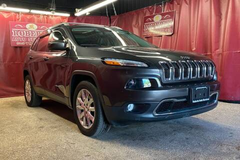 2015 Jeep Cherokee for sale at Roberts Auto Services in Latham NY