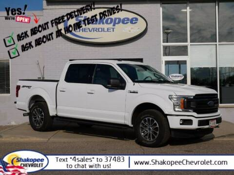2020 Ford F-150 for sale at SHAKOPEE CHEVROLET in Shakopee MN