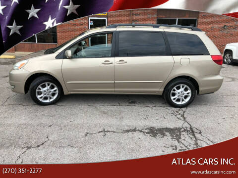 2004 Toyota Sienna for sale at Atlas Cars Inc. in Radcliff KY