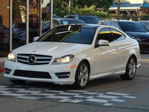 2013 Mercedes-Benz C-Class for sale at Drive Town in Houston TX