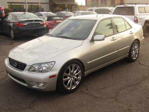 2003 Lexus IS 300 for sale at More Info Skyline Auto Sales in Phoenix AZ