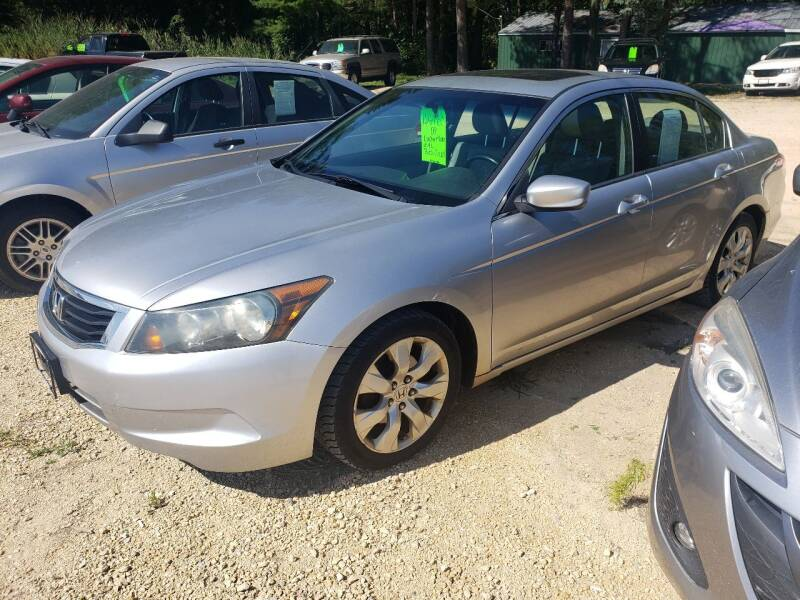 2008 Honda Accord for sale at Northwoods Auto & Truck Sales in Machesney Park IL