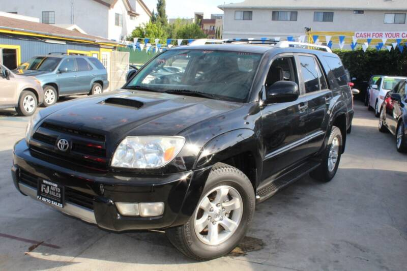 2005 Toyota 4Runner for sale at FJ Auto Sales North Hollywood in North Hollywood CA