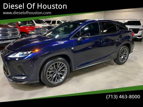 2021 Lexus RX 350 for sale at Diesel Of Houston in Houston TX