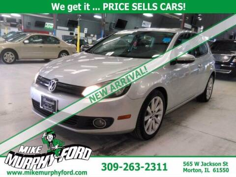 2013 Volkswagen Golf for sale at Mike Murphy Ford in Morton IL