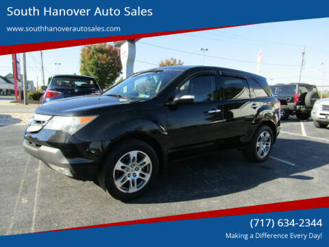 2008 Acura MDX for sale at South Hanover Auto Sales in Hanover PA
