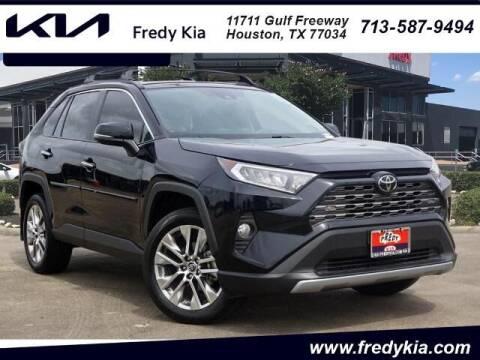 2019 Toyota RAV4 for sale at FREDY KIA USED CARS in Houston TX