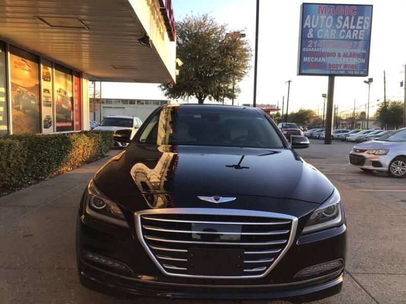 2015 Hyundai Genesis for sale at Magic Auto Sales in Dallas TX