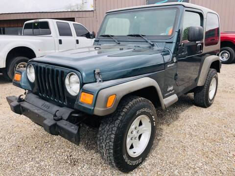 2006 Jeep Wrangler for sale at The Truck Shop in Okemah OK