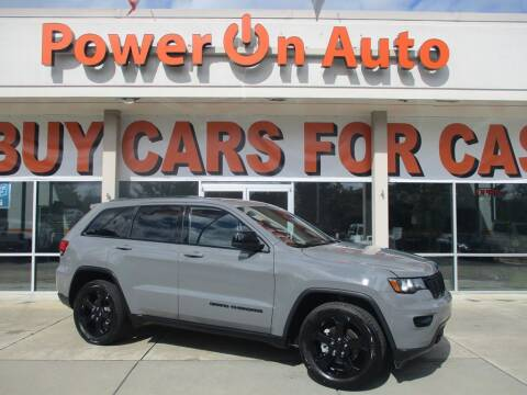 2019 Jeep Grand Cherokee for sale at Power On Auto LLC in Monroe NC