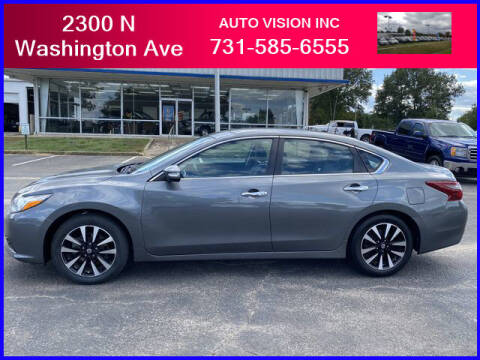 2018 Nissan Altima for sale at Auto Vision Inc. in Brownsville TN