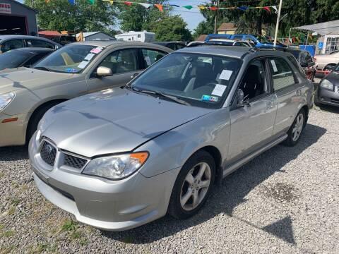 2007 Subaru Impreza for sale at Trocci's Auto Sales in West Pittsburg PA