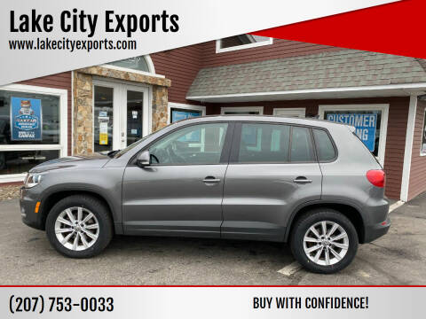 2014 Volkswagen Tiguan for sale at Lake City Exports in Auburn ME