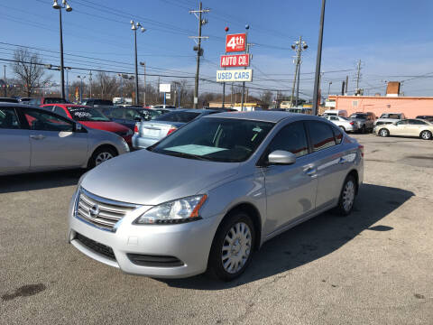2013 Nissan Sentra for sale at 4th Street Auto in Louisville KY