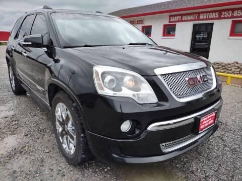 2012 GMC Acadia for sale at Sarpy County Motors in Springfield NE