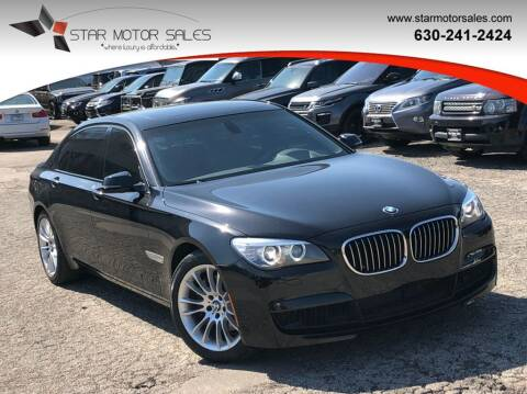 2014 BMW 7 Series for sale at Star Motor Sales in Downers Grove IL