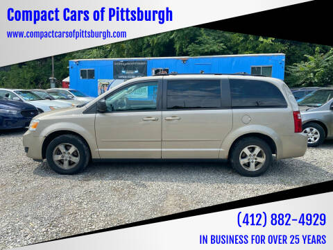 2009 Dodge Grand Caravan for sale at Compact Cars of Pittsburgh in Pittsburgh PA