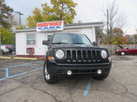2012 Jeep Patriot for sale at Midway Cars LLC in Indianapolis IN