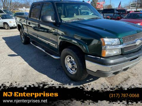 2003 Chevrolet Silverado 1500HD for sale at NJ Enterprises in Indianapolis IN