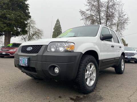 2007 Ford Escape for sale at Pacific Auto LLC in Woodburn OR