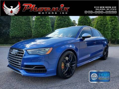 2015 Audi S3 for sale at Phoenix Motors Inc in Raleigh NC