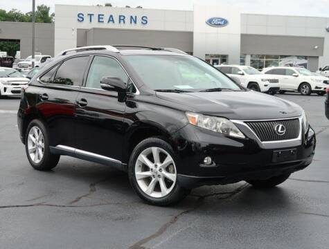2012 Lexus RX 350 for sale at Stearns Ford in Burlington NC