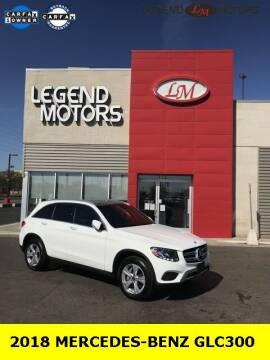 2018 Mercedes-Benz GLC for sale at Legend Motors of Detroit - Legend Motors of Ferndale in Ferndale MI