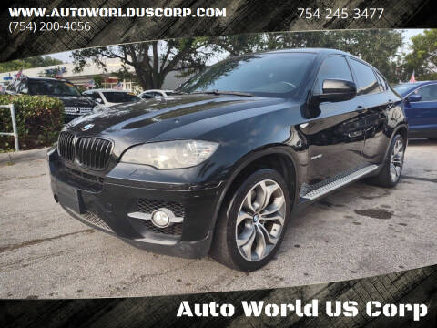2011 BMW X6 for sale at Auto World US Corp in Plantation FL