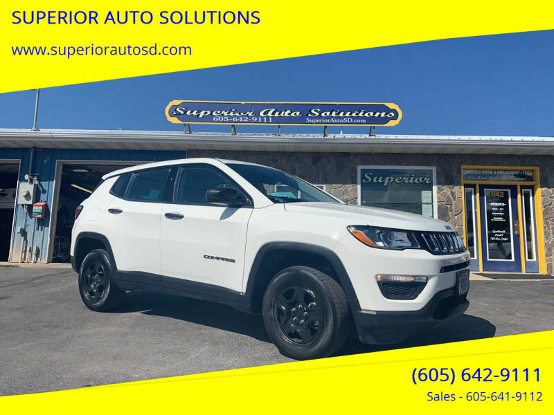 2018 Jeep Compass for sale at SUPERIOR AUTO SOLUTIONS in Spearfish SD