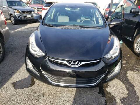 2015 Hyundai Elantra for sale at Jimmys Auto INC in Washington DC