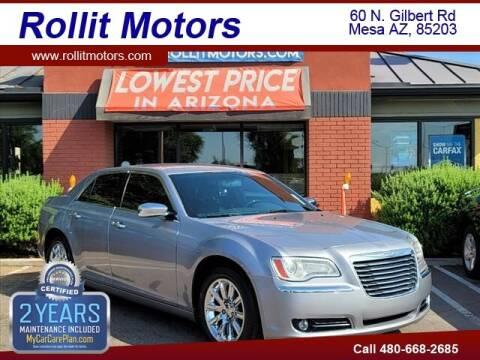 2014 Chrysler 300 for sale at Rollit Motors in Mesa AZ