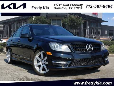 2014 Mercedes-Benz C-Class for sale at FREDY USED CAR SALES in Houston TX