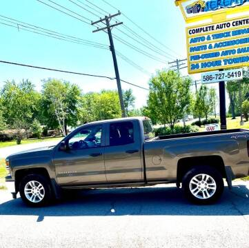 2014 Chevrolet Silverado 1500 for sale at JEREMYS AUTOMOTIVE in Casco MI