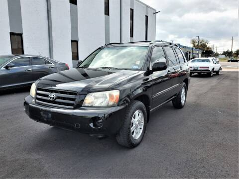 2006 Toyota Highlander for sale at Image Auto Sales in Dallas TX