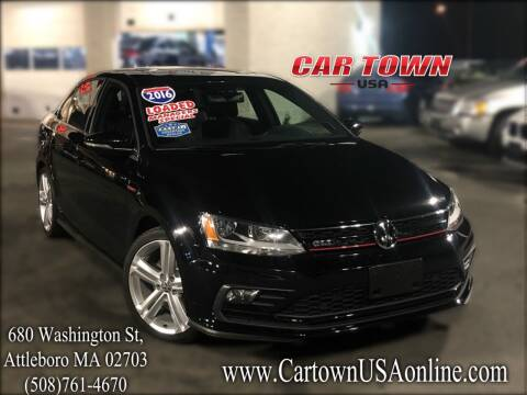 2016 Volkswagen Jetta for sale at Car Town USA in Attleboro MA