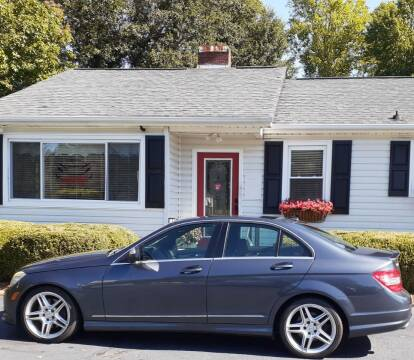 2008 Mercedes-Benz C-Class for sale at SIGNATURES AUTOMOTIVE GROUP LLC in Spartanburg SC