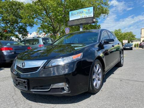 2013 Acura TL for sale at All Star Auto Sales and Service LLC in Allentown PA