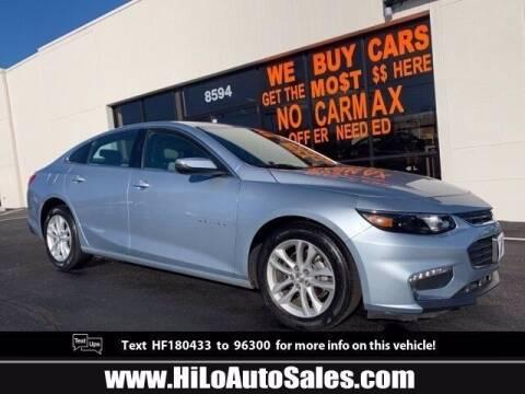 2017 Chevrolet Malibu for sale at Hi-Lo Auto Sales in Frederick MD