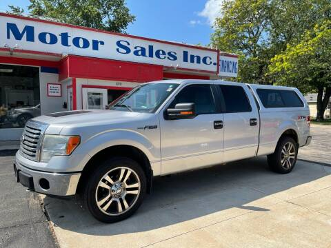 2011 Ford F-150 for sale at TNT Motor Sales in Oregon IL