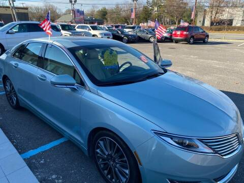 2014 Lincoln MKZ Hybrid for sale at Primary Motors Inc in Commack NY