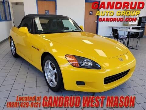 2002 Honda S2000 for sale at GANDRUD CHEVROLET in Green Bay WI